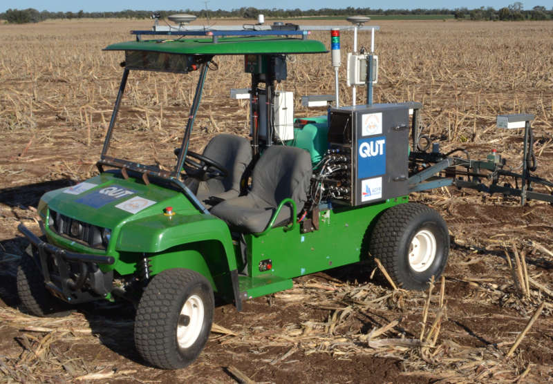 Robotics for Zero-Tillage Agriculture (AgBot)