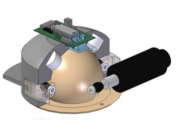 Spherical Continuous Isotropic Omni Drive Robot